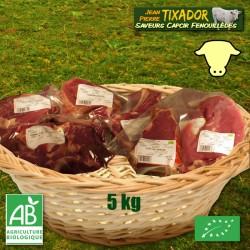 Veau : pièces à griller et à braiser 5 kg