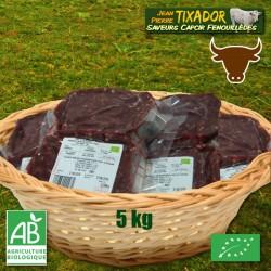 Caissette steak haché de Boeuf - 5 kg