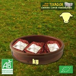 Steaks hachés de Veau (au kg)